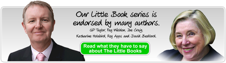 Click here to see what author's are saying about The Little Books